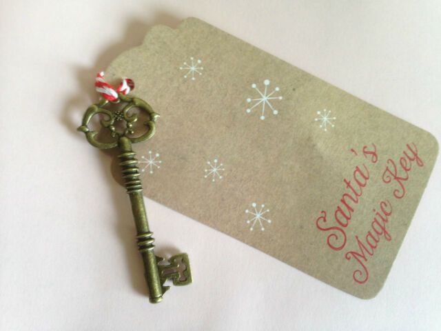 Santa Magic Key Father Christmas Xmas  (492)