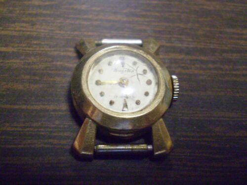 14K Yellow Gold Ladies Kingston 17 Jewel Watch        8.2 grams