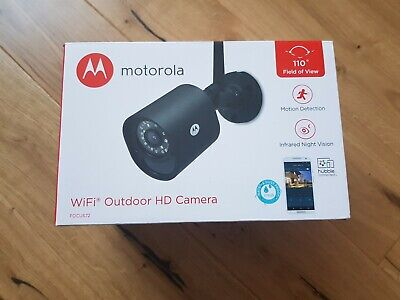 MOTOROLA Focus 72 Outdoor WiFi Home Security Camera, night vision