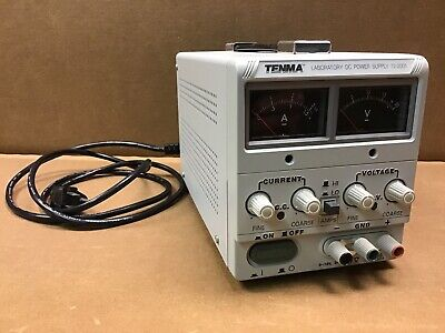 Tenma Laboratory Dc Power Supply 72-2005 Good Working Condition