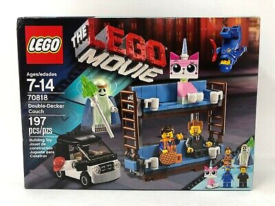 LEGO The LEGO Movie Double-Decker Couch 70818 New, Sealed, DAMAGED BOX
