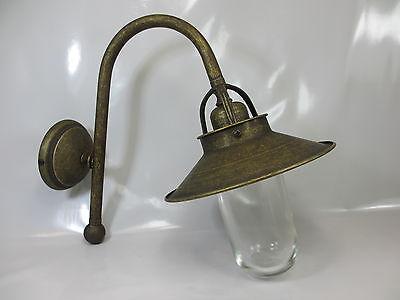Vintage Industrielampe Antik Stil Glaskolbenlampe Art Deco Stil Wandlampe