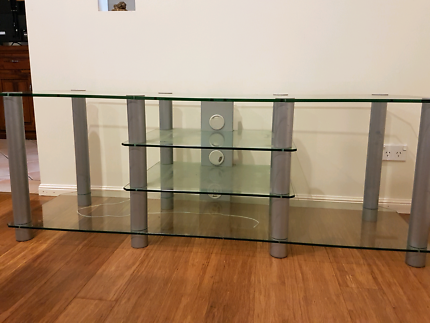 Glass T.V. cabinet/stand