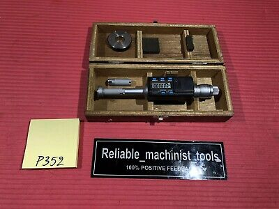 Mitutoyo Intrimik Bore Holtest Inside Micrometer .5 To .8 In W1 Ring P352
