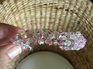 Pink and White Crystal Swarovski Bracelet Edge Hill Cairns City Preview