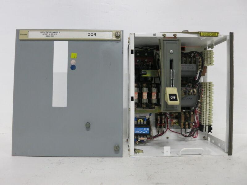 "Siemens Tiastar Furnas 89 Size 1 Reversing Starter 30 Amp Fused 18"" MCC Bucket"