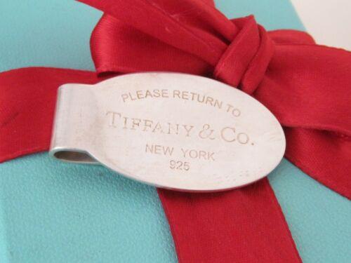 Authentic Tiffany & Co Silver Return To Tiffany Money Clip Holder