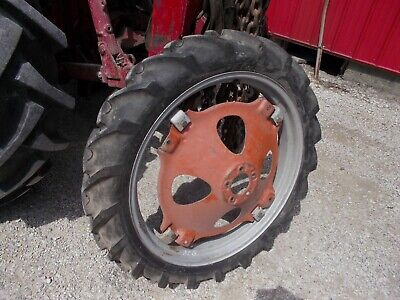 Allis Chalmers G Tractor 7.2 X 30 30 Good Year Tread 95 Tire Ac Rim Center