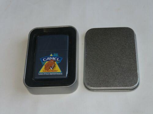 Joe CAMEL 75th Birthday Anniversary ZIPPO Lighter PROMO NEW SEALED Mint w/ Tin