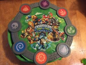 Skylanders lot with game for wii u, bag, portal and accessories