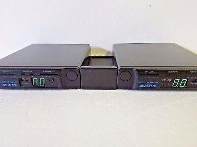 (2) Vega R-2020 Rackmount UHF Wireless Receiver  Rackmount Wireless Receiver
