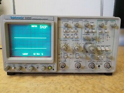 Tektronix 2465 300mhz Oscilloscope