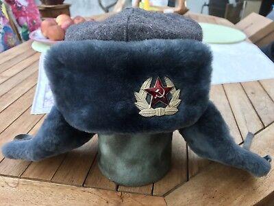 ☆ ORIGINAL Wintermütze Armee Sowjetunion (UdSSR)