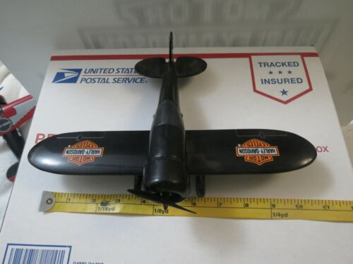 Harley Davidson toy airplane bank