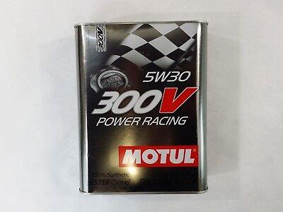 104241 Motul 300V POWER RACING 5W30 Racing Engine Oil, Ester-based (2 Liter) comprar usado  Enviando para Brazil