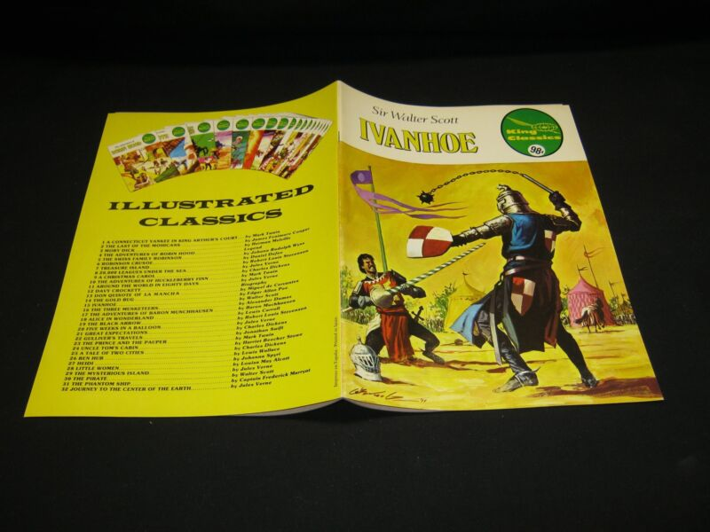 King Classic: #15 IVANHOE   (O)  1977   FVF/VF