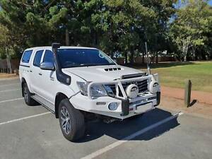 2014 Toyota Hilux Sr5 (4x4) 5 Sp Automatic Dual Cab P/up Murrumba Downs Pine Rivers Area Preview