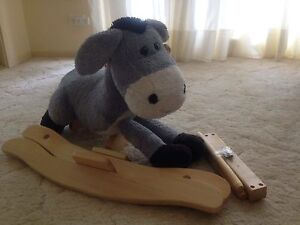 Plush donkey rocking horse Old Bar Greater Taree Area Preview