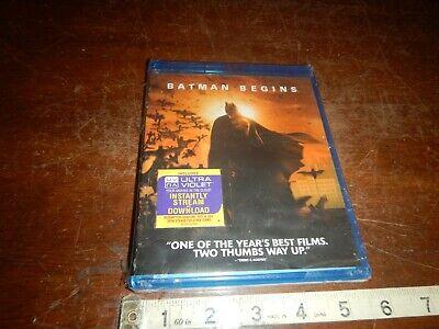 Batman Begins Blu-Ray DVD - NEW & SEALED