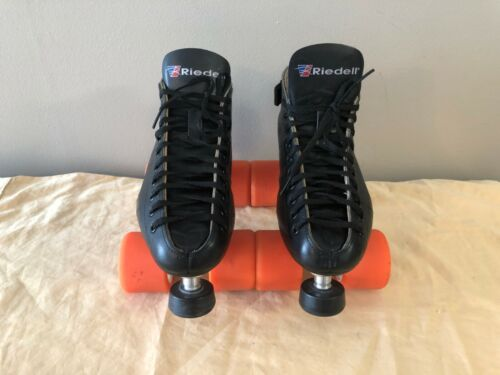 Riedell 595 Roller Skates Revenge Plates Men