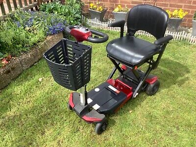 Monarch Solax S3021 Automatic Folding Electric 4-Wheel Scooter