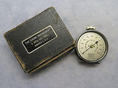 Antique Vintage Durometer Hardness Gauge Type A2 Shore Instrument & Mfg