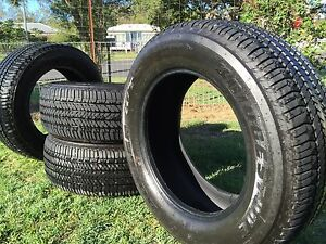 4 X Ford Ranger tyres Dueler H/T D684 265/60/R18 Gin Gin Bundaberg Surrounds Preview