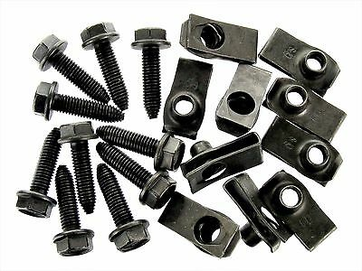 Honda Acura Body Bolts & U-nut Clips- M8-1.25 x 30mm Long- 13mm Hex- 20 pcs #132
