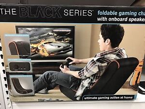 Brand New The Black Series Foldable Gaming Chair..
