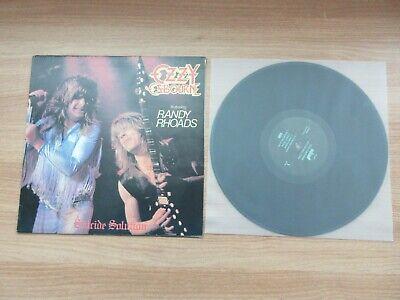 Ozzy Osbourne - Suicide Solution Korea Mono Back Cover LP Featuring Randy Rhoads