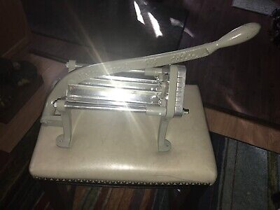 Halco French Fry Cutter Potato Cutting Slicing Manual Wall Mount Restaurant