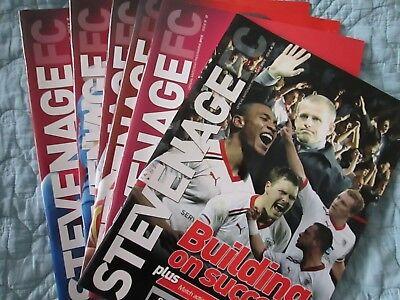 Stevenage v Tranmere Rovers  - Division 1 - 2011/12