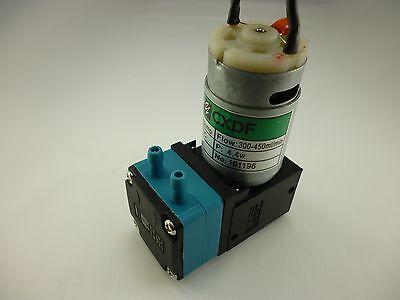 Mini Self Priming Membrane Diaphragm Micro Water Ink Pump 24 Vdc 6.75 Gph Hy3024