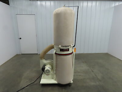 Jet Dc-1200vx-3 Dust Collector 2 Hp 3 Ph 30 Micron Bag Filter 3-phase 230460v