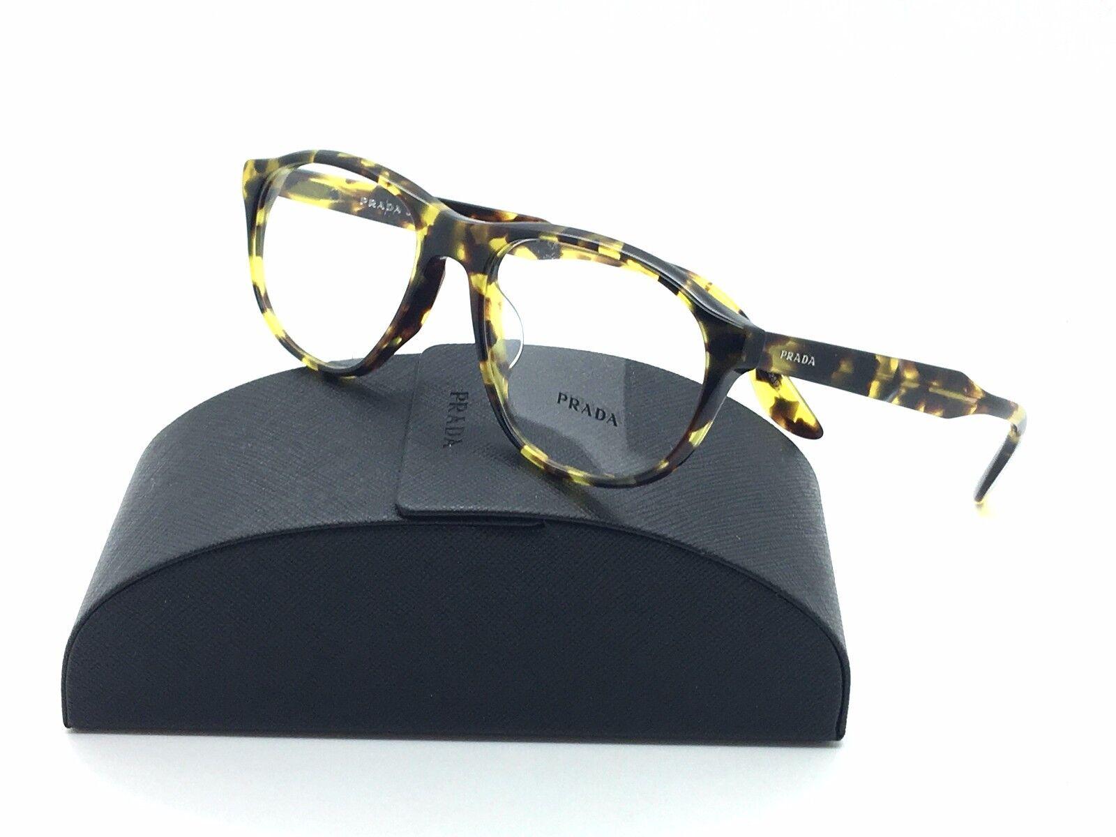 Prada Pilot Journal Tokyo Tortoise  VPR 12S-F Eyeglasses UBL