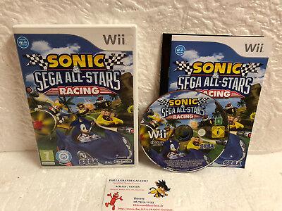 Jeu Vidéo Sonic & Sega All-Stars Racing Wii U Nintendo Compatible WiiU Team 3D