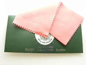 LARGE Jewellery POLISH CLEANING CLOTH for Silver / Gold