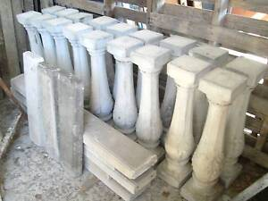 CONCRETE BAULSTRADING.....15 FANCY DESIGN POSTS PLUS CAPPING Noosa Heads Noosa Area Preview