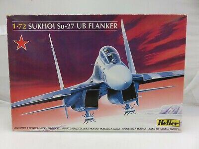 Heller SUKHOI SU-27 UB FLANKER 1/72 Scale Plastic Model Kit 80371 UNBUILT