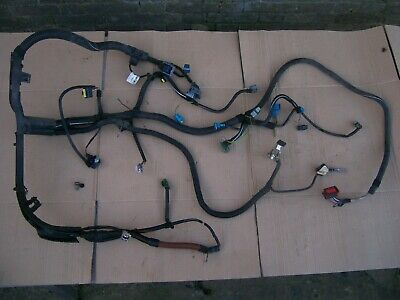 PEUGEOT 206 ENGINE BAY ECU BATTERY FUSE STARTER MOTOR WIRING LOOM 9640384980