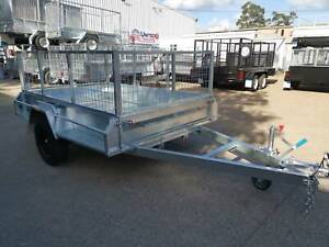8X5 SINGLE AXLE TRAILER 1.4TN ATM HIGH SIDE 900MM MESH CAGE Vineyard Hawkesbury Area Preview
