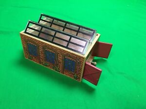 Thomas the Train Wooden STATION W/ CLEAR PLASTIC ROOF