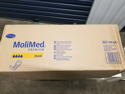 molimed premium maxi incontinence pads box 12 packs