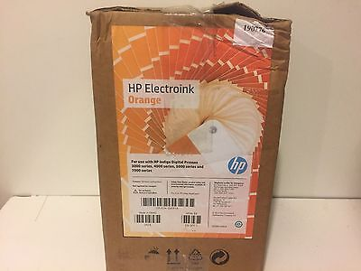 Genuine Hp Electroink Orange Hp Indigo Digital Press 3000 4000 5000 7000 Q4091a