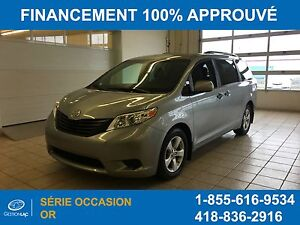 Toyota Sienna Le V-6 7 Passagers Bluetooth 2016