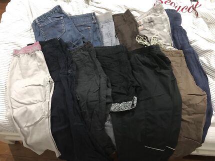 Size 8 various pants, jeans & dress