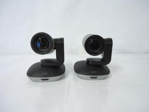 LOT OF 2 Genuine Logitech V-U0032 Conference Camera 860-000543 GREAT DEAL!!!