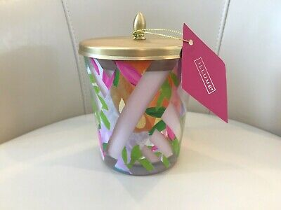 NEW Illume Luxury Scented Jar Candle Thai Lily Large 13.2 oz Tin Lid NWT Pink