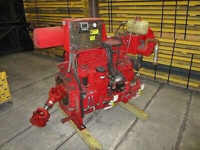 John Deere 6090 Industrial Engine 6090hfc47 6 Cylinder 9 L Turbocharged 2013