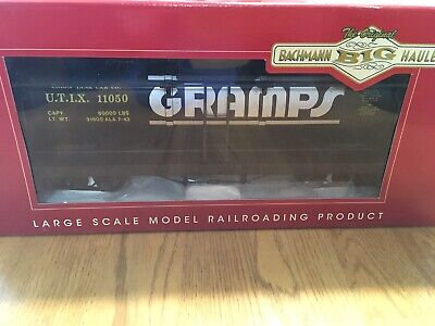 BACHMANN G-SCALE 93445 GRAMPS SINGLE DOME TANK CAR METAL WHEELS & KNUCKLES NEW